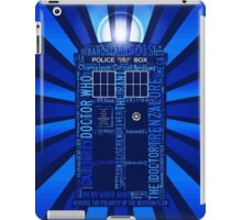 Tardis of Text iPad Case/Skin