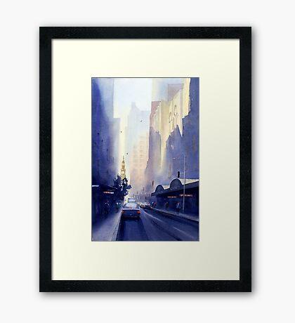 York Street, Sydney Framed Print