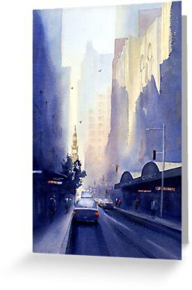 York Street, Sydney by Joe Cartwright