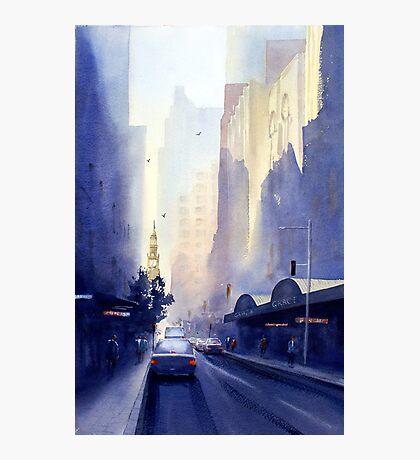 York Street, Sydney Photographic Print