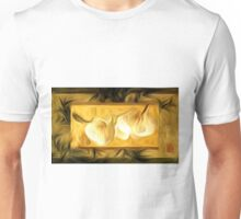 Chinese Orchids Abstract Oil Painting Unisex T-Shirt