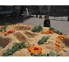 Dia de los muertos en Labastida, Oaxaca Photographic Print