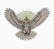 Mason Owl (Color version) T-Shirt