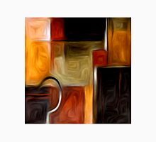 Abstract Squares Oil Painting #1 Unisex T-Shirt
