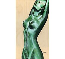 nude green II Photographic Print