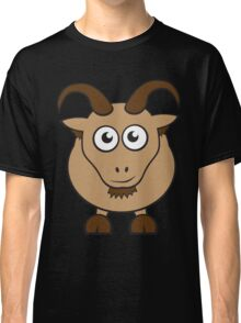 Grover The Goat in Brown Classic T-Shirt