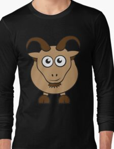 Grover The Goat in Brown Long Sleeve T-Shirt