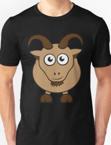 Grover The Goat in Brown T-Shirt