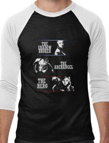 Shadowbroker, Archangel, the Hero femshep Men's Baseball ¾ T-Shirt