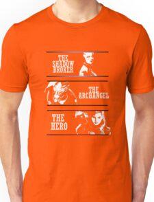 Shadowbroker, Archangel, the Hero femshep Unisex T-Shirt
