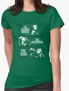 Shadowbroker, Archangel, the Hero femshep Womens Fitted T-Shirt