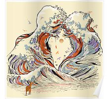 The Great Wave of Love Poster