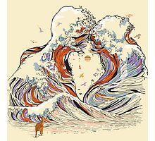 The Great Wave of Love Photographic Print