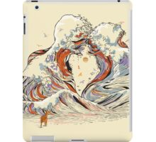The Great Wave of Love iPad Case/Skin