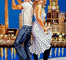 "Dancin"" at the Dock by Debbie Diamond"