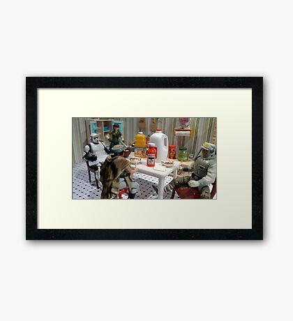 Morning Table Framed Print