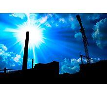 industry sun Photographic Print