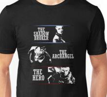 Shadowbroker, Archangel, the Hero maleshep Unisex T-Shirt
