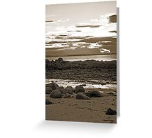 Monreith bay Scotland-So peaceful! Greeting Card