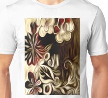 Abstract Flowers Oil Painting #1 Unisex T-Shirt