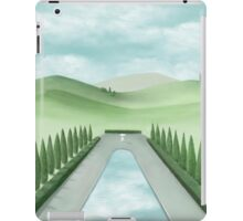 The Long Pond With Cypress Trees iPad Case/Skin
