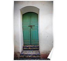 AQUA ENTRY- Marrakech, Morocco  Poster