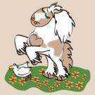 Gypsy Cob rearing t-shirt by Diana-Lee Saville