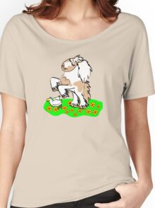 Gypsy Cob rearing t-shirt Women's Relaxed Fit T-Shirt