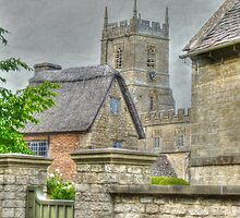 A church view by Kim Slater