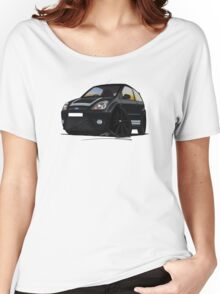 Ford Fiesta ST500 Black Women's Relaxed Fit T-Shirt