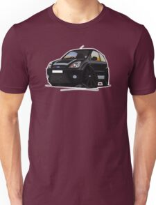 Ford Fiesta ST500 Black Unisex T-Shirt