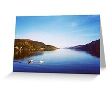 Clearly Autumn ~Entering Loch Ness; Leaving Fort Augustus Greeting Card
