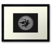 Have Courage my friends Framed Print