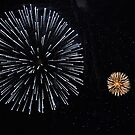 Lewes Fireworks - Simple by Celia Strainge