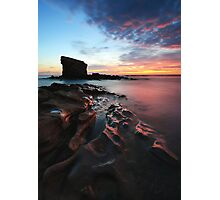 Seaton Sluice Sunrise Photographic Print