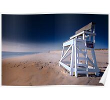 Nauset Beach, Cape Cod - Lifeguard Chair Poster