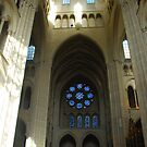 Laon - North Transept by Peter Reid