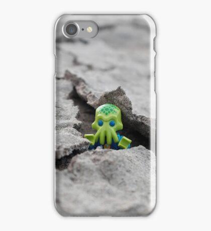 Lego Alien - Peek-a-boo! iPhone Case/Skin