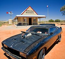The Interceptor at Silverton, NSW by Richard  Windeyer