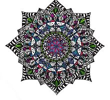 mandala design by Emza