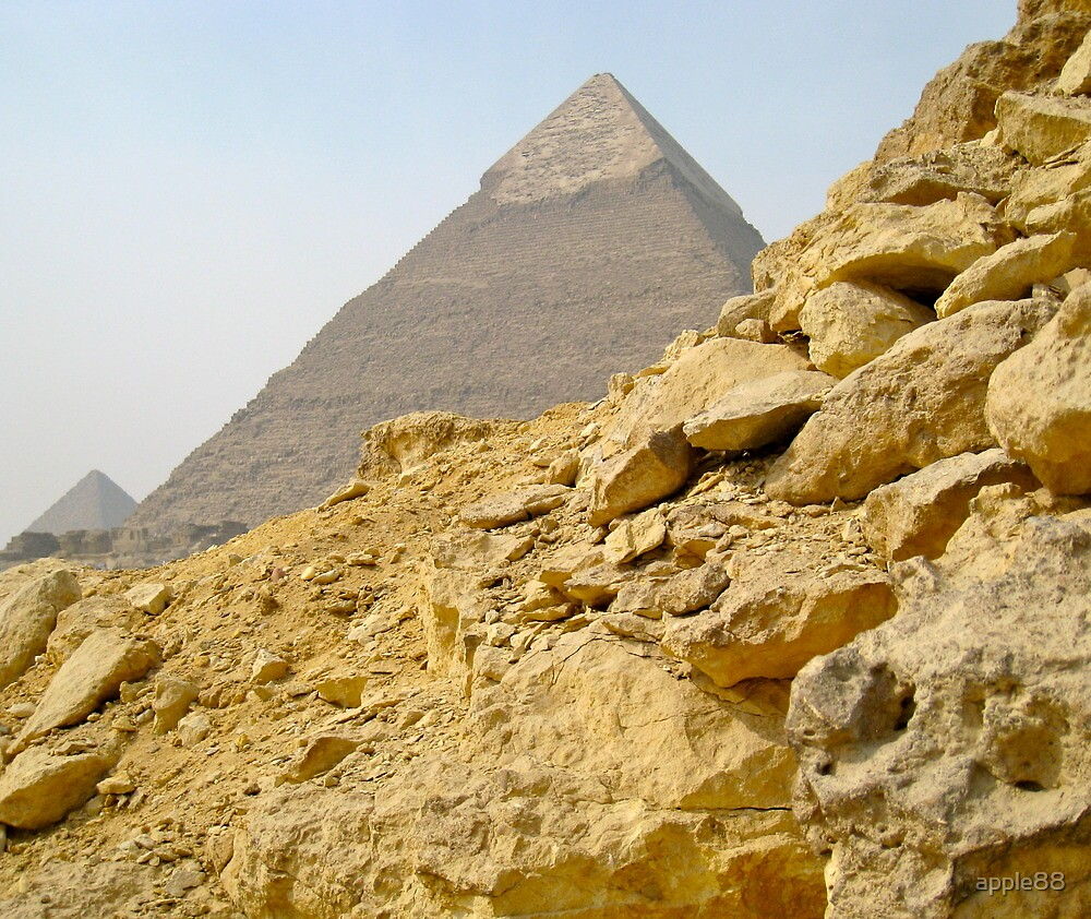 The Pyramids by apple88