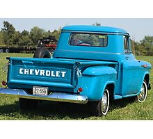Classic Chevy Truck Photographic Print