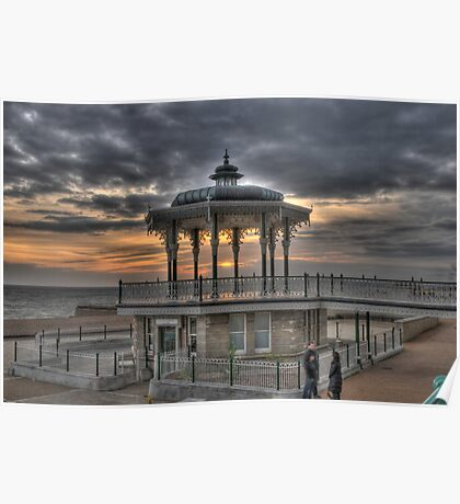Hove Bandstand East Sussex Poster