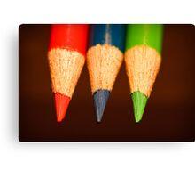 Three Colours Canvas Print