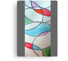 Stain Glass 3 Canvas Print