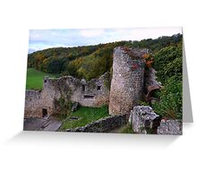 The Ruin: Burg Rötteln Greeting Card