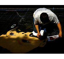 Chalk Artist ~ Part Three Photographic Print