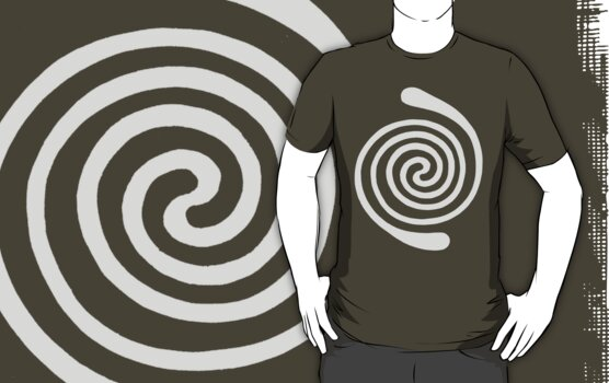 Spiral (grey) by Apotypomata