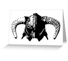 Dovahkiin's Helmet Greeting Card
