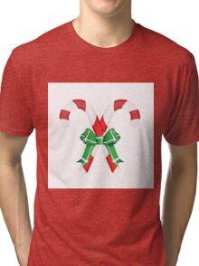 Candy Canes Tri-blend T-Shirt